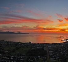 Townsville Sunrise - Halifax Bay and Magnetic Island by Paul Gilbert