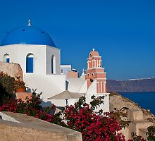 Greece. Santorini. Oia. Church. by vadim19