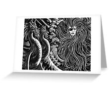 """""""Encounter With Circe"""" Greeting Card"""