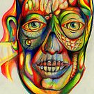 psychedelic portrait by carl0s