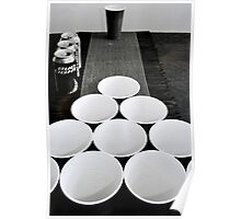 Beer Pong at Best Poster