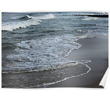 Wave Layers Poster