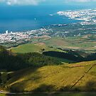 Ponta Delgada and Lagoa by Gaspar Avila