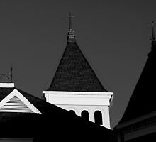 Courthouse Steeples by JLBphoto