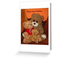Happy Second Birthday Greeting Card