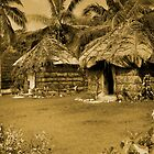 Lifou Huts by Scott Mclaren