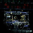 Mike Mangini on drums by Antonio Paliotta