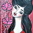 GEISHA by Barbara Cannon Art Studio