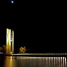 Canberra Carillon at Night by bazcelt