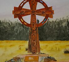 Celtic Cross by Veron Miller