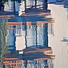 pool reflection by richard  webb
