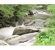 Flowing River - Tennessee Photographic Print
