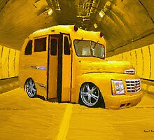 Yellow Bus by artstoreroom
