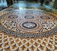 Mosaic Floor by Lilian Marshall