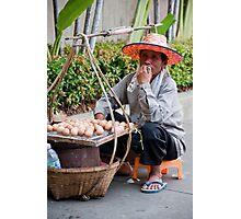 Egg Man Photographic Print