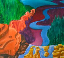 Valley of Colors by Sromot4