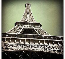 Eiffel Tower, Paris by Cara Gallardo Weil