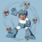 Skull Barrier Megaman by Axxerous