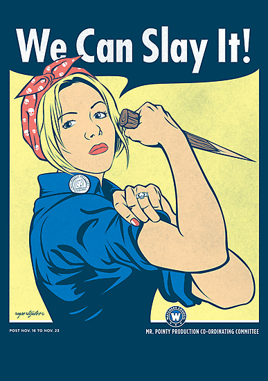 Buffy the Riveter by AJ Paglia
