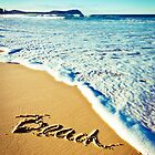 Beach by David Geoffrey Gosling (Dave Gosling)