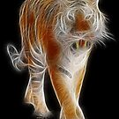 Tiger - Chinese Zodiac by Liane Pinel by Liane Pinel