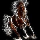 Horse - Chinese Zodiac by Liane Pinel by Liane Pinel