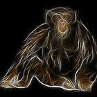 Monkey - Chinese Zodiac by Liane Pinel by Liane Pinel