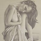 Nude Study One by Brent Schreiber