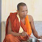 Sihanouville Monk 2 by byronbackyard
