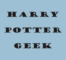 Harry Potter Geek  Kids Clothes