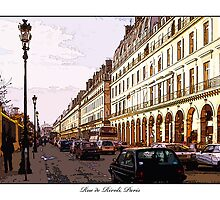 Rue De Rivoli, Paris by prbimages