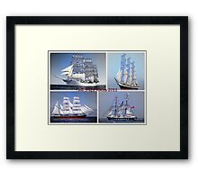 Tall Ships Races  Framed Print