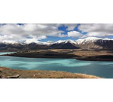 Lake Tekapo and the Southern Alps Photographic Print