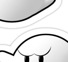 Boos Sticker