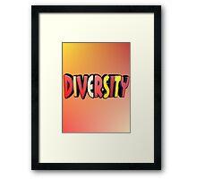 Autumn Diversity Framed Print