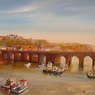 FOLKESTONE - The old bridge by Beatrice Cloake