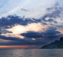 Ipanema Sunset Pano by jorginho