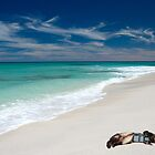 Relaxing on the Beach by Michael Smith