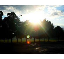 The sun's happy glare Photographic Print