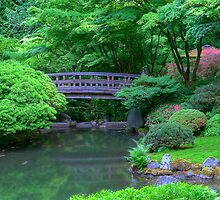 Japanese Gardens (Portland, Oregon) by Brendon Perkins
