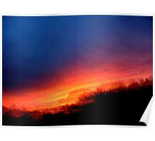 Sequential Sunset Poster