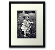 Sugar and Spice and all Things Nice.... Framed Print