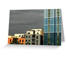 Modern centre blocks Greeting Card