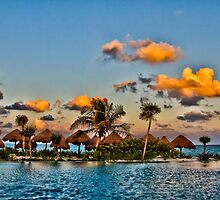 Caribbean Sunset by Yelena Rozov