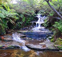 Leura Falls - Leura by CW-Photography