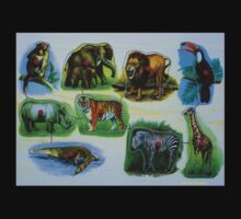Animal Jigsaw Puzzle by Narani Henson