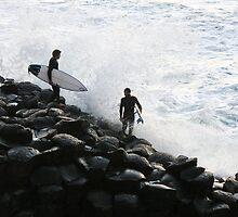 Crazy Surfers by Odille Esmonde-Morgan