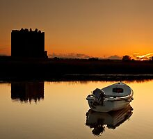 Threave Castle Sunset by Brian Kerr