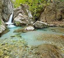 Waterfall in Greece, Taygetos mountain. by nickthegreek82
