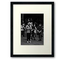 Fandangled ... Framed Print